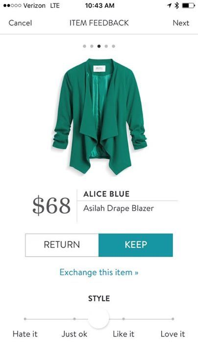 Perfect for fall! Love the color, sleeves, and fabric. I'd take this in any color though!