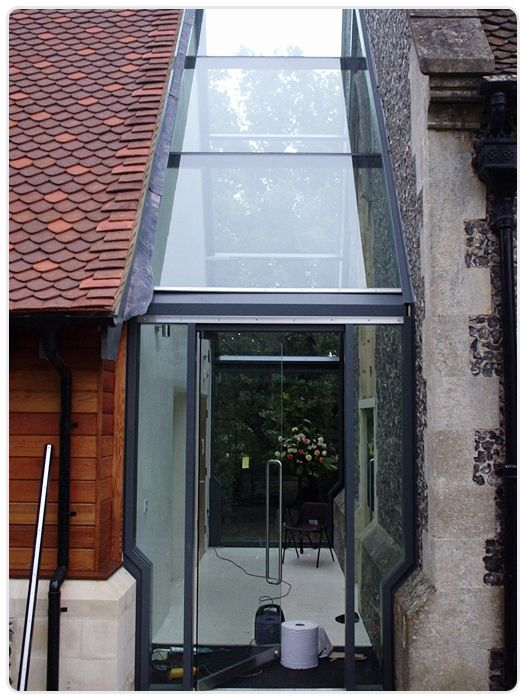St Johns Church Glazed Link Northolt Glass Architectural