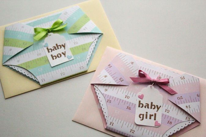 New baby card.