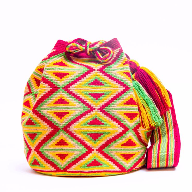 Hermosa Wayuu Bags - Woven One thread