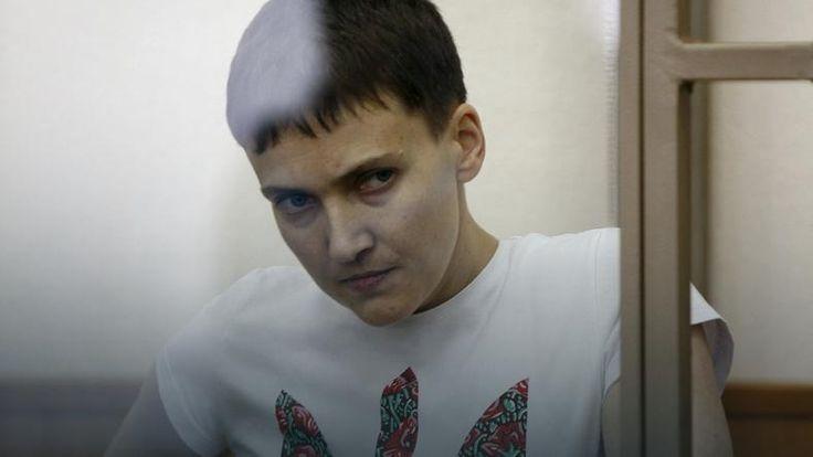 Sąd w Rosji uznał Nadię Sawczenko za winną śmierci dwóch rosyjskich dziennikarzy w Donbasie