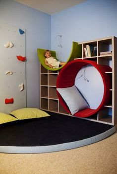 I would have loved this as a child (if it had a window) I had only a regular window seat in my room