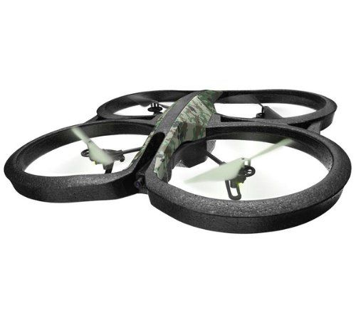 Parrot AR Drone Quadricopter, 2.0 Elite Edition, 720p