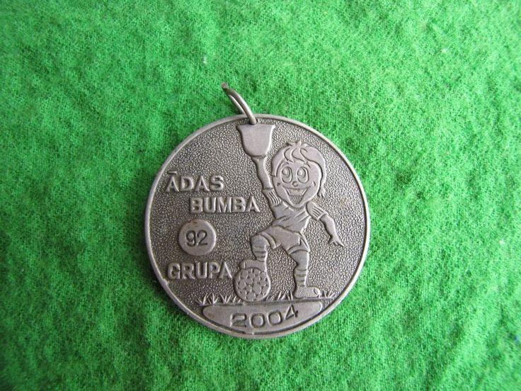 Adas ball 92 group 2004 Adas bumba 92 grupa medal bagde pin sport children