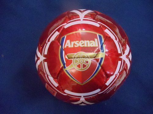 ARSENAL OFFICIAL SOCCER BALL by Rhinox. $39.99. # 5. ARSENAL OFFICIAL SOCCER BALL. A VERY NICE BIRTHDAY PRESENT !!!!