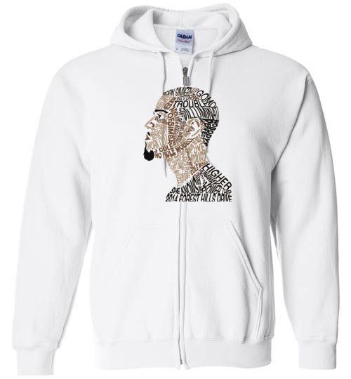cool J.-Cole Unisex zip hoodie