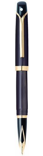 Sheaffer 9355-0 Valor Gloss Brown Marble 22k GT Fountain Pen
