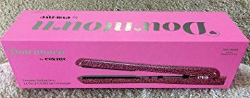 Eva NYC Healthy Heat Ceramic Styling Flat Iron in Pink Cheetah Review