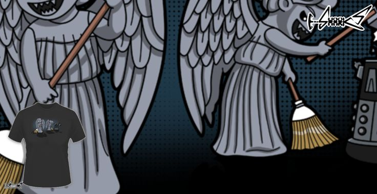 T-shirts - Design: Sweeping Angels - by: Boggs Nicolas