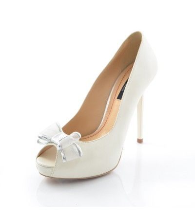 Pantofi de Mireasa Peep Toe