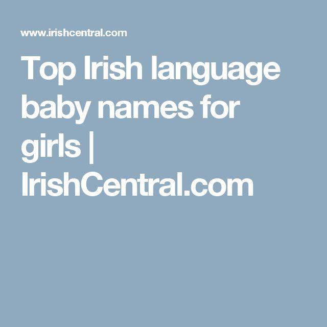 The 25 Best Popular Irish Girl Names Ideas On Pinterest