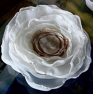 Le Ptit Monde de Marie_ Couture: Fleurs en tissu 1