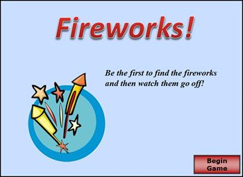 Image of Fireworks Game