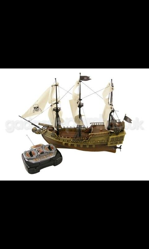 An RC Pirate ship would be awesome
