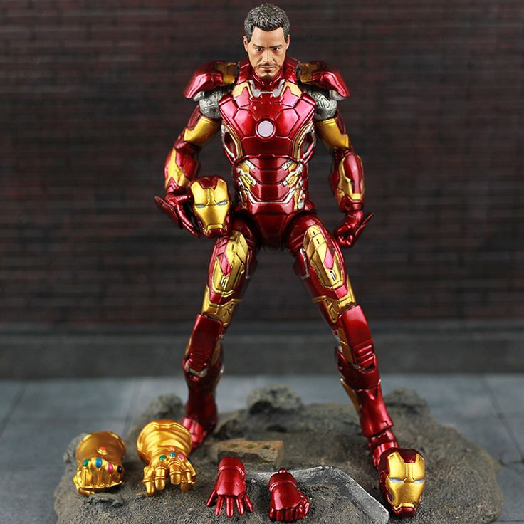 Iron Man Mark 43 with Infinity Gauntlet //Price: $45.00 & FREE Shipping //     #avengers #justiceleague #superman #spiderman