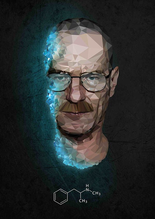 Illustration | Breaking Bad on Behance                                                                                                                                                                                 Mais