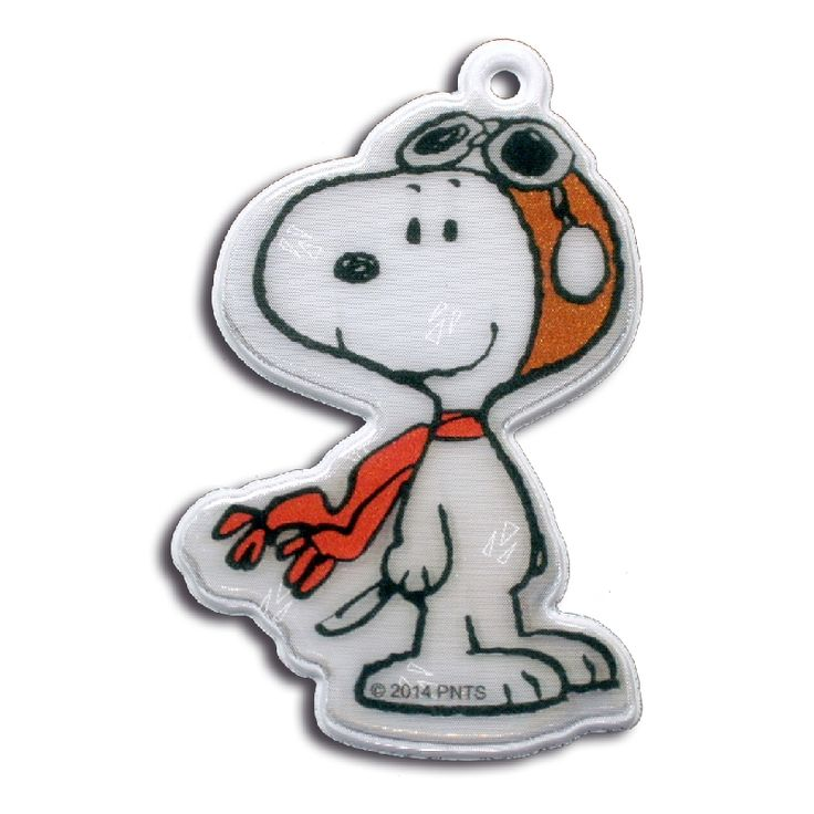 Pilot Snoopy reflector