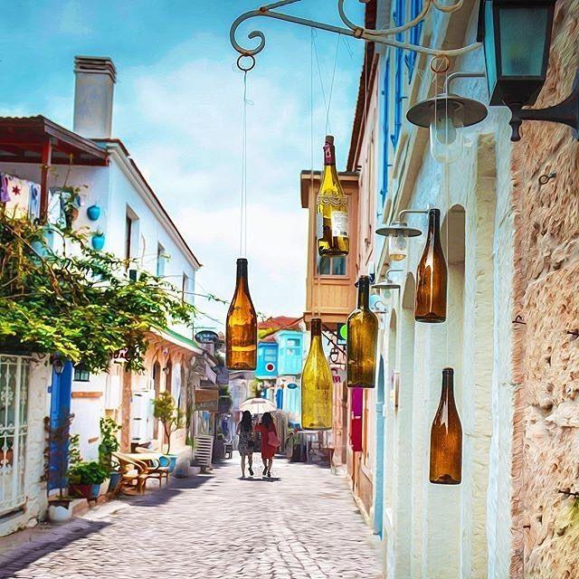 Alaçatı #goodevening ✨ Explore Alacati with #alacatiturkey @alacatiturkey @alpertorunn