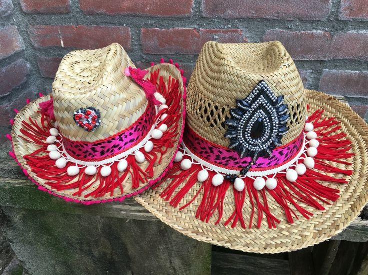 Ibizahoed ibizahat hoed hoeden hat hats bohemian custommade summer zomer beach strand  franjes