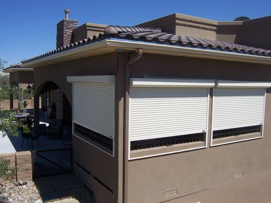 29 best Exterior Rolling Shutters images on Pinterest   House ...