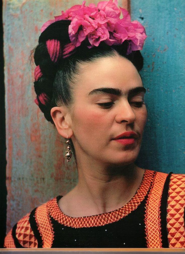 Frida with Idol, photograph by Nikolas Muray c.1940
