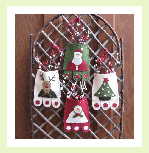 Image of Holiday Cheer From Marg Lowe Designs This lady has really adorable designs.