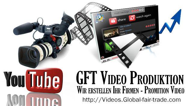 GFT Blog Home Wir realisieren Ihren Video-Clip für Ihre Website, zu Schulungszwecken und für Messen und andere Werbeplattformen.