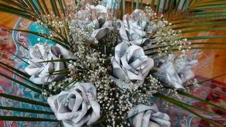 Мастер-класс по флористике: Денежная роза