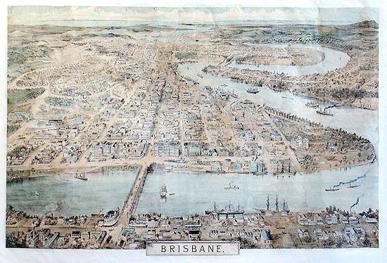 Brisbane [panorama], 1888