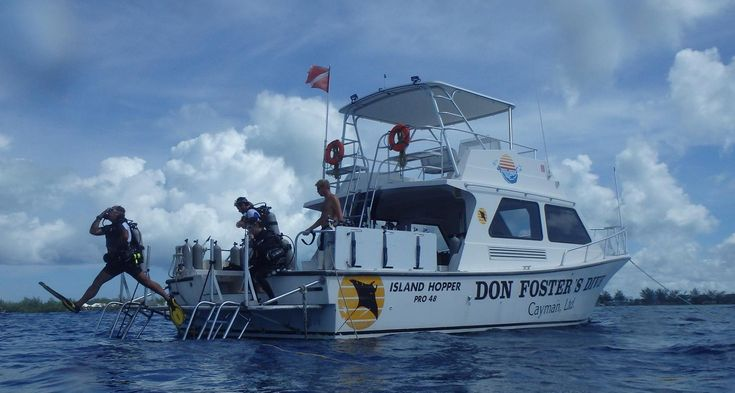 Dive Centre of the Day: Don Foster's Dive, Grand Cayman #scuba #diving #dive #centre #center #oftheday #grand #cayman #islands #DonFosters