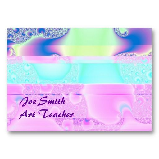 Pink CIty Chubby Business Card Template #businesscards