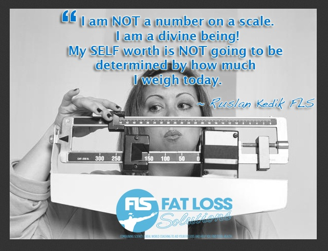 Your SELF-WORTH & SELF-ESTEEM should never be subjected to the number on the scale!