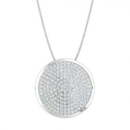 Passione Diamond Necklace in Platinum 950