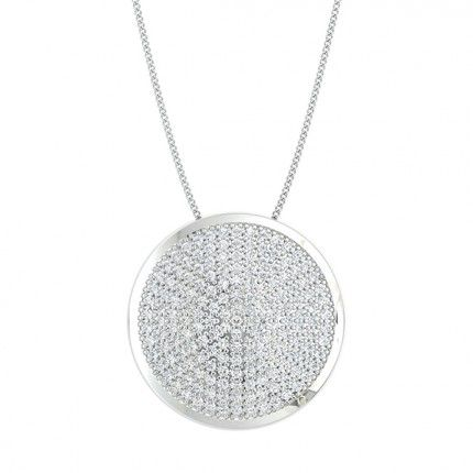 Passione Diamond Necklace in Platinum 950