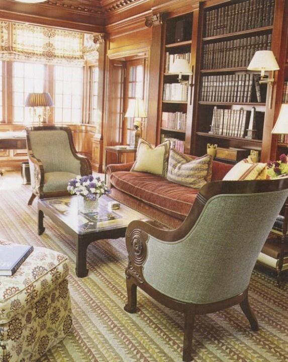 37 besten Bibliothek Bilder auf Pinterest Buecher, Bücherregale - hausbibliothek regalwand im wohnzimmer