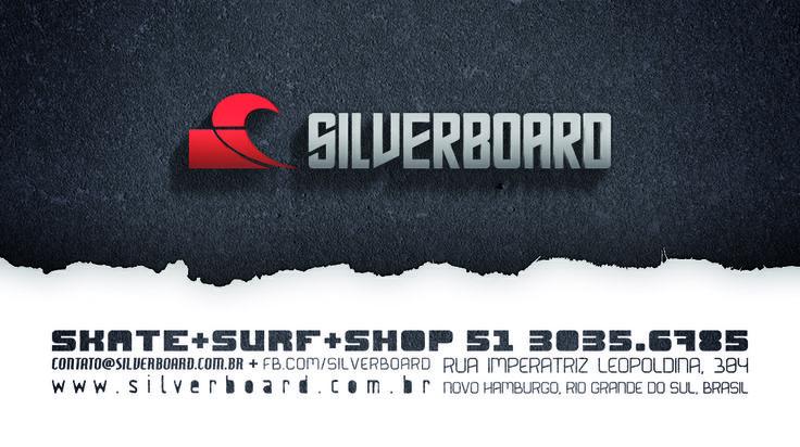 Cartão de visitas da Silverboard.