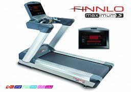 Bieżnia elektryczna FINNLO MAXIMUM S T22.1 - LED http://lord4sport.pl/bieznia-elektryczna-finnlo-maximum-s-t22-1-led.html