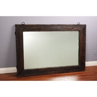 @Overstock - Expertly constructed using reclaimed railway sleeper ties, this unique mirror will add a sophisticated touch to any room. This mirror features a medium brown finish making it the perfect complement to any decor.http://www.overstock.com/Home-Garden/Reclaimed-Railway-Tie-Wood-65-inch-Mirror/7357412/product.html?CID=214117 $759.49