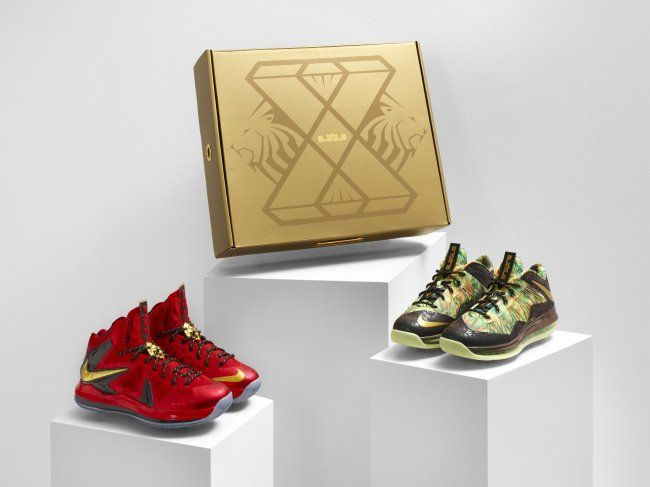 Nike LeBron X  10  Championship Pack     Release InfoLebron X Jumpman