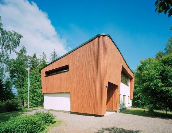 House Leimio, Tuusula, Finland by Vesa Honkonen Architects.: Houses Leimio, Architecture Houses