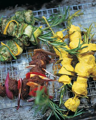 the best marinated fish kebabs