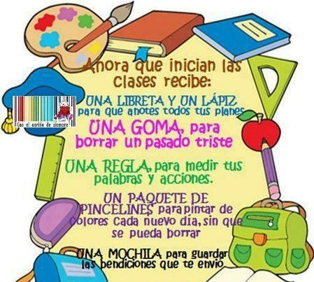 Spanish class objects vocabulary image
