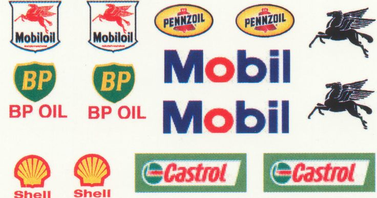* 14 PETROL AND OIL DECALS FOR CODE 3 MODEL LIST 2   eBay