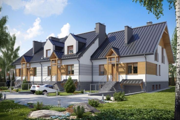 DOM.PL™ - Projekt domu KBP LESKO CE - DOM BP2-78 - gotowy projekt domu