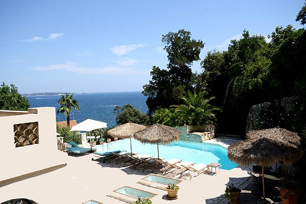 Incredible views from Villa Blue Horizon in Cannes, France.