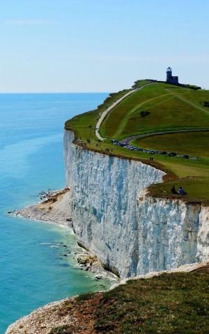 Birling Gap, East Sussex, England - British coast. Thank you, Eva.
