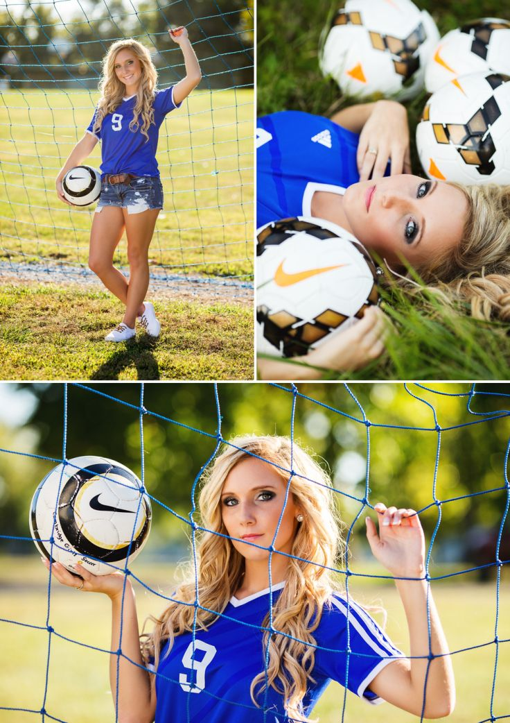 Soccer Senior Pictures | Penny Claire Photography | Zanesville Ohio