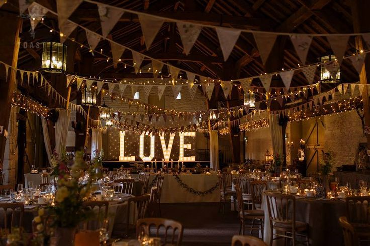 Love From Typical Type On The Stage At East Riddlesden Hall West Yorkshire Wedding