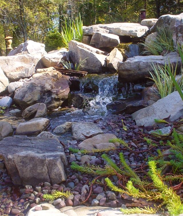 23 best ideas about waterless ponds on pinterest for Pond features and fountains
