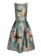 Womens *Chi Chi London Multi Coloured Floral Print Prom Dress- Multi Colour